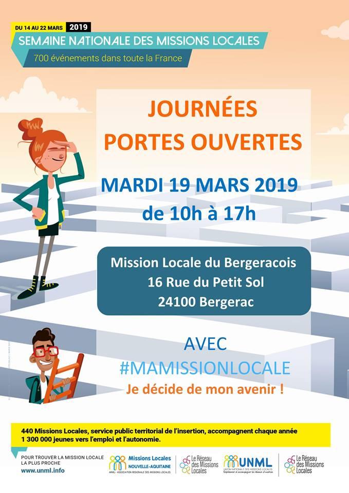 Venez rencontrer la Mission Locale de Bergerac !