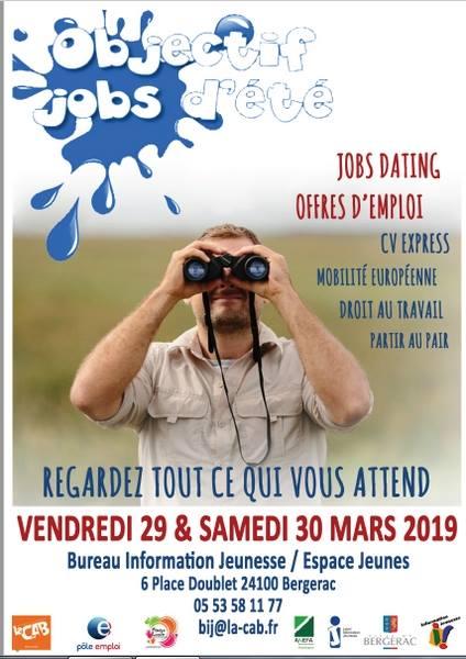 Objectif Jobs d'été à Bergerac !