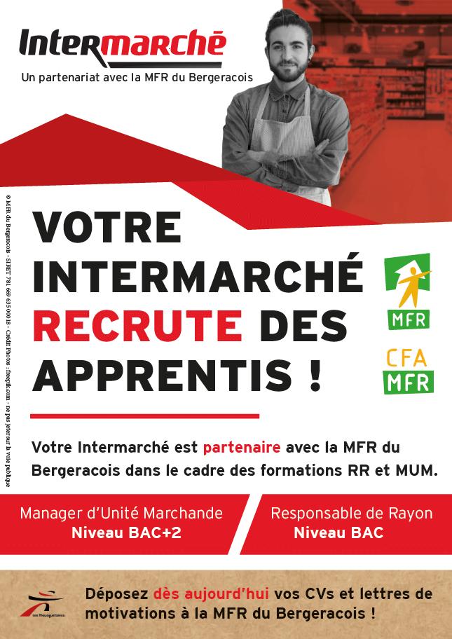 Affiche Partenariat Intermarché / MFR